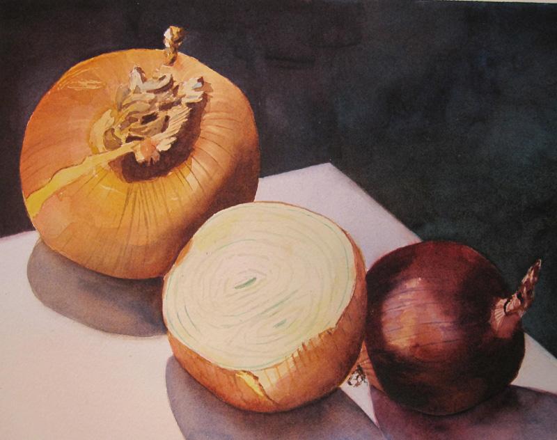 2 ½ Onions